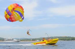 parachute ascensionnel st tropez